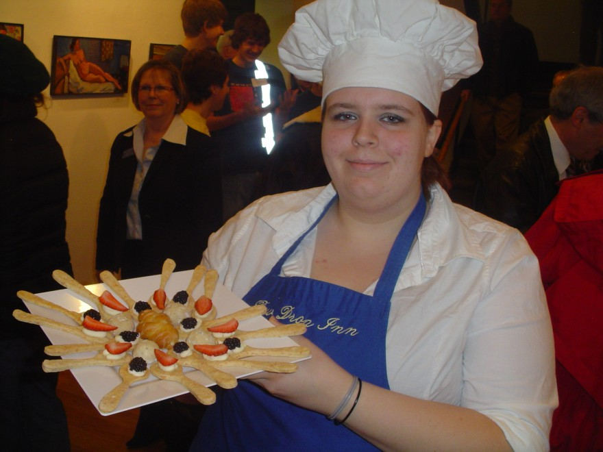 Hoosier Hills Culinary Arts Program - caters The State of the Corporation