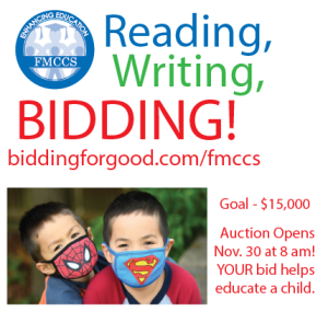 Reading, Writing, & Bidding 2020!